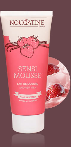 Milk shower SENSIMOUSSE 200ml